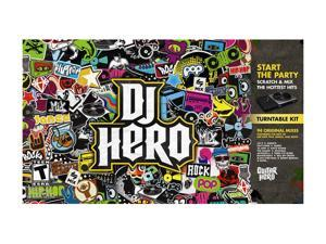 DJ Hero w/turn Table Xbox 360 Game