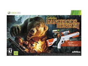 Cabela's Dangerous Hunts 2011 Gun Bundle Xbox 360 Game Activision