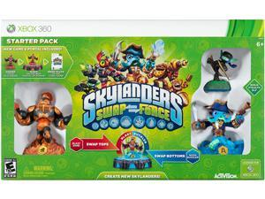 Skylanders SWAP Force Starter Pack Xbox 360 Game Activision
