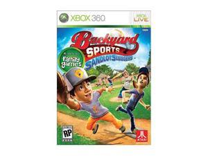 Backyard Sport Sandlot Slugger Xbox 360 Game ATARI