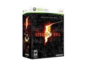 Resident eVIL 5 Collector Edition Xbox 360 Game