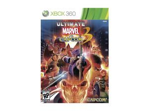 Ultimate Marvel Vs Capcom Xbox 360 Game