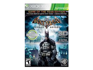 Batman Arkham Asylum Game of the Year Edition Xbox 360 Game