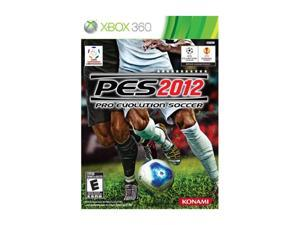 Pro Evolution Soccer 2012 Xbox 360 Game KONAMI