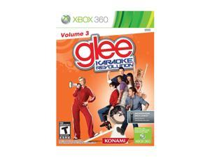 Karaoke Revolution Glee Volume 3 Bundle Xbox 360 Game KONAMI