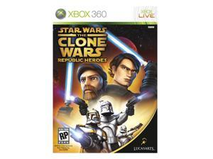 Star Wars: Clone Wars Republic Heroes Xbox 360 Game LUCASARTS