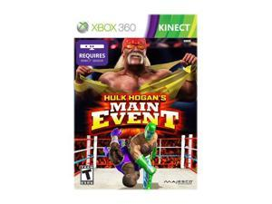 Hulk Hogan's Main Event Xbox 360 Game MAJESCO