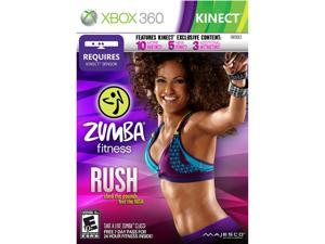 Zumba Fitness Rush Xbox 360 Game MAJESCO
