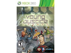 Young Justice: Legacy Xbox 360 Game MAJESCO