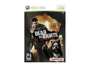 Dead to Rights: Retribution Xbox 360 Game namco