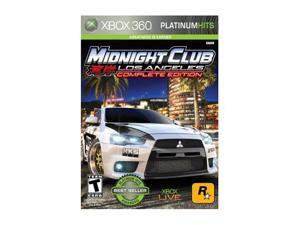 Midnight Club: Los Angeles Complete Edtion Xbox 360 Game Namco