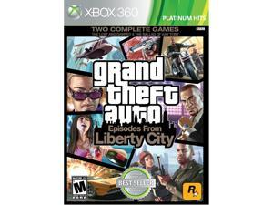 Grand Theft Auto: Episodes from Liberty City Xbox 360 Game Rockstar Gaming