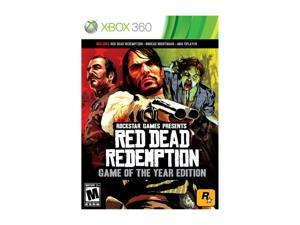 Red Dead Redemption: Game of The Year Edition Xbox 360 Game Rockstar Gaming