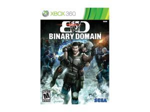 Binary Domain Xbox 360 Game