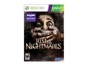 Rise of Nightmares Xbox 360 Game SEGA