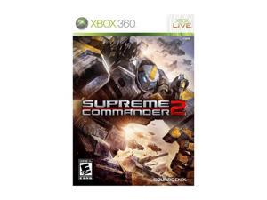 Supreme Commander 2 Xbox 360 Game SQUARE ENIX