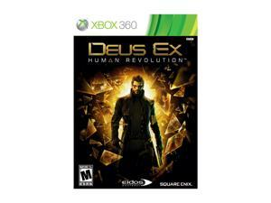 Deus Ex: Human Revolution Xbox 360 Game SQUARE ENIX