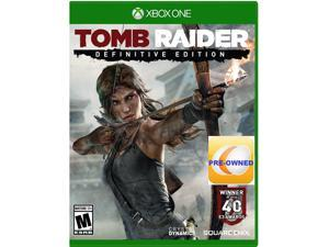 PRE-OWNED Tomb Raider Definitive Edition  Xbox One