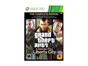 Grand Theft Auto IV Complete Xbox 360 Game Take2 Interactive