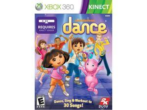 Nickelodeon Dance Xbox 360 Game Take2 Interactive