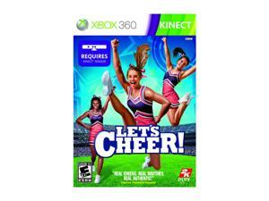 Let's Cheer Xbox 360 Game Take2 Interactive