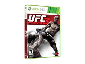 UFC Undisputed 3 Xbox 360 Game THQ