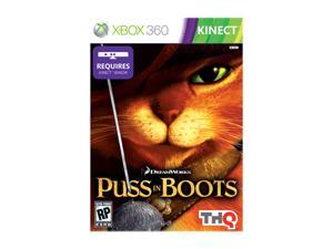 Puss in Boots (Kinect) Xbox 360 Game THQ