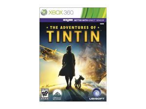 The Adventures Of Tintin: The Game Xbox 360 Game Ubisoft