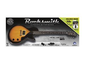 Rocksmith Guitar & Bass Guitar Bundle Xbox 360 Game