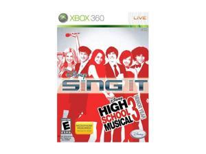 High School Musical 3 SING IT Xbox 360 Game