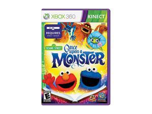 Sesame Street: Once Upon A Monster Xbox 360 Game Warner Bros. Studios