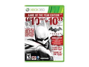 Batman Arkham City Game of the Year Edition Xbox 360 Game Warner Bros. Studios