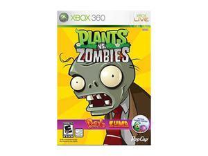 Plants Vs Zombies Xbox 360 Game
