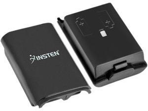 INSTEN Black Wireless Controller Battery Pack Shell For Microsoft Xbox 360 / Xbox 360 Slim