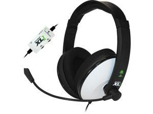 Turtle Beach TBS-2149-01 Ear Force XL1 Amplified Wired Headset with Mic (Black/White)