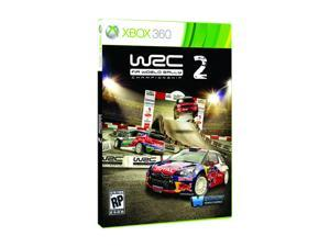 WRC2 FIA World Rally Championship Xbox 360 Game