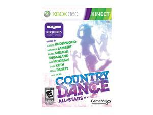 Country Dance: All Stars Kinect Xbox 360 Game Game Mill