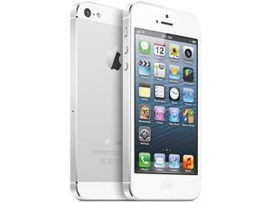 "Apple iPhone 5 MD635LL/A White & Silver 3G 4G LTE Dual-Core 1.2GHz 4G LTE GSM Smart Phone with 4"" Screen/ iOS 6 / 16GB Memory ..."