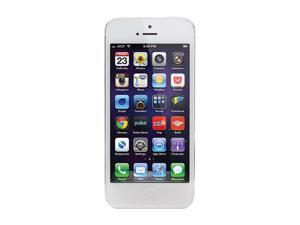 "Apple iPhone 5 White 4G LTE Smart Phone with 4"" Screen / iOS 6 / 16GB Memory for Verizon"