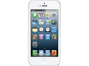 "Apple iPhone 5 MD655LL/A White & Silver 3G 4G LTE Dual-Core 1.2GHz Smart Phone with 4"" Screen/ iOS 6 / 16GB Memory for Verizon"