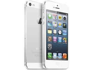 "Apple iPhone 5 MD294LL/A White 3G 4G LTE Dual-Core 1.2GHz Unlocked Smart Phone with 4"" Screen/ iOS 6 / 16GB Memory"