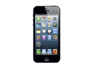 "Apple iPhone 5 MD293LL/A Black & Slate 3G 4G LTE Unlocked Smart Phone with 4"" Screen / iOS 6 / 16GB Memory"