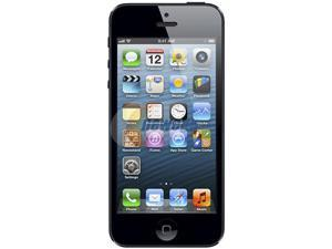 "Apple iPhone 5 MD656LL/A Black 3G 4G LTE Dual-Core 1.2GHz Smart Phone with 4"" Screen / iOS 6 / 16GB Memory for Sprint"