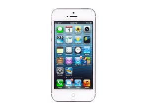"Apple iPhone 5 MD643LL/A White 3G 4G LTE Dual-Core 1.2GHz Unlocked Smart Phone with 4"" Screen/ iOS 6 / 64GB Memory"
