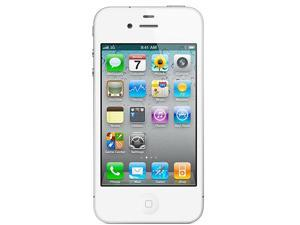 Apple iPhone 4 MD198C/A White 3G Single-Core 1.0GHz 8GB Unlock Smart Phone with Retina Display / HD Video Recording / Face ...
