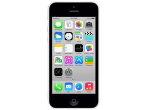 Apple iPhone 5C White 3G 4G LTE Dual-Core 1.3GHz Unlocked Cell Phone