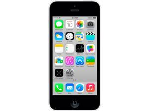 Apple iPhone 5 iPhone 5C White 4G HSPA+ Unlocked Cell Phone