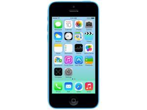 Apple iPhone 5C Electric Blue 3G 4G LTE Dual-Core 1.3GHz Unlocked Cell Phone