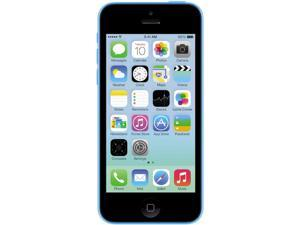 Apple iPhone 5C Blue 3G 4G LTE Dual-Core 1.3GHz Unlocked Cell Phone