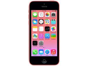 Apple iPhone 5C Pink LTE Dual-Core 1.3GHz Unlocked Cell Phone